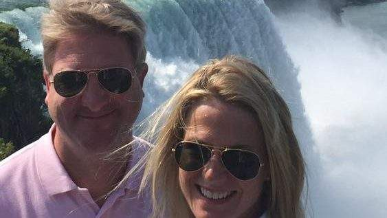 Daniel-John-Gregory-with-his-wife-Martha-Maccullam-on-holiday
