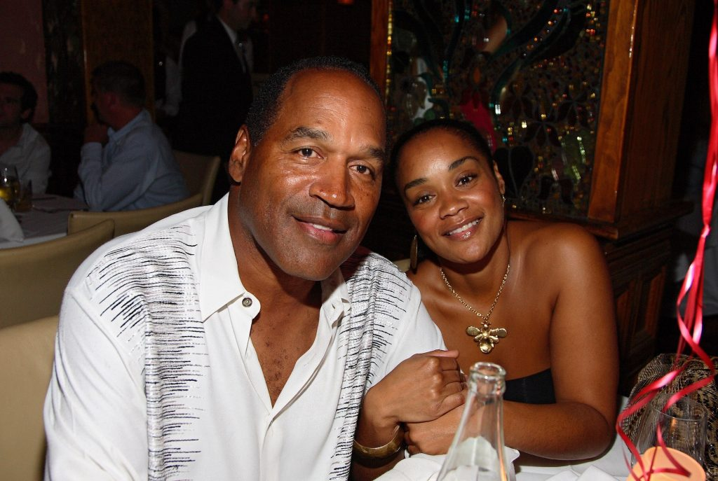 Arnelle Simpson and her father O.J Simpson