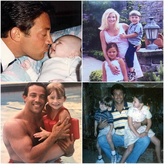 Carter Belfort with family in his early days