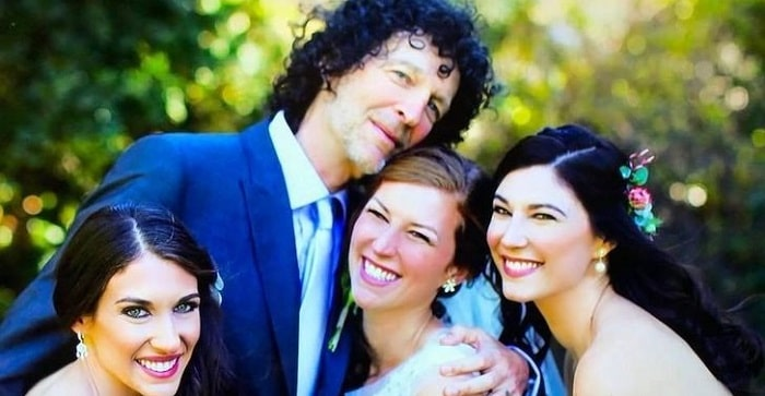 Ashley Jade Stern with her father and sisters