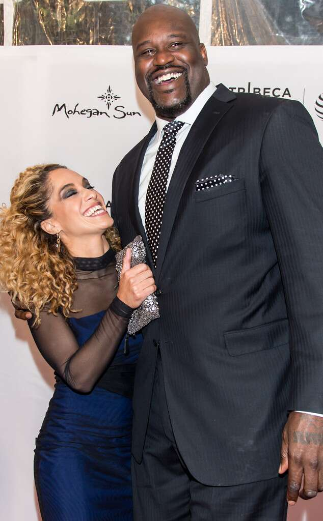 Laticia Rolle and her ex-boyfriend Shaquille O'Neal