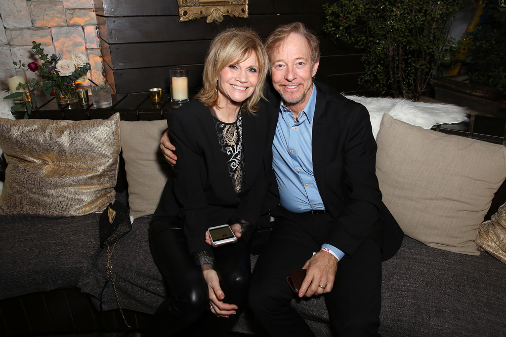 Markie Post and her husband Michael
