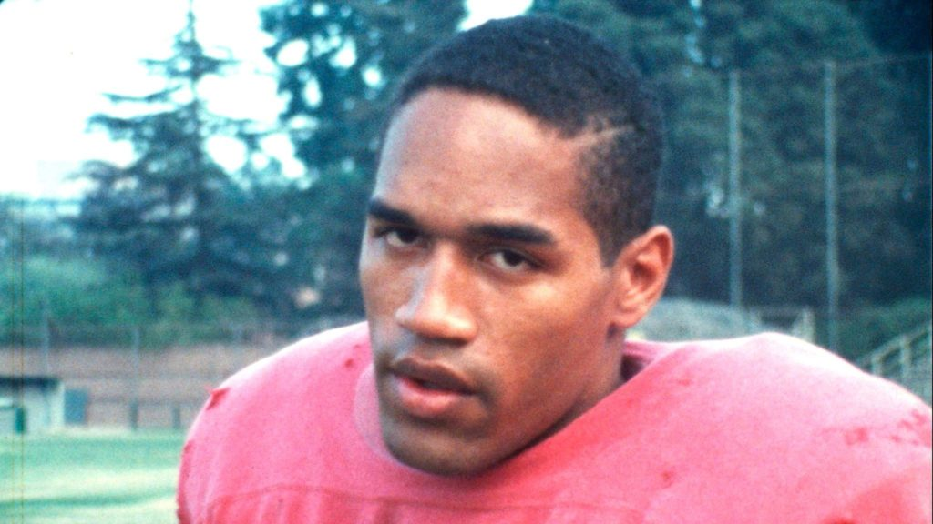 O.J Simpson during his early life