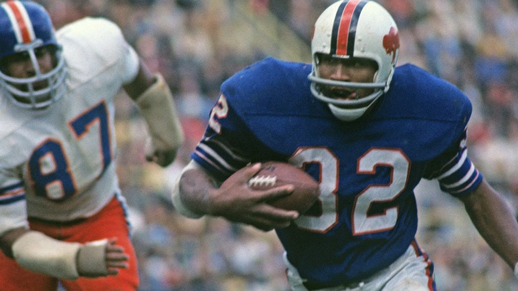 O.J Simpson was listed as Top 100 Players in 2010