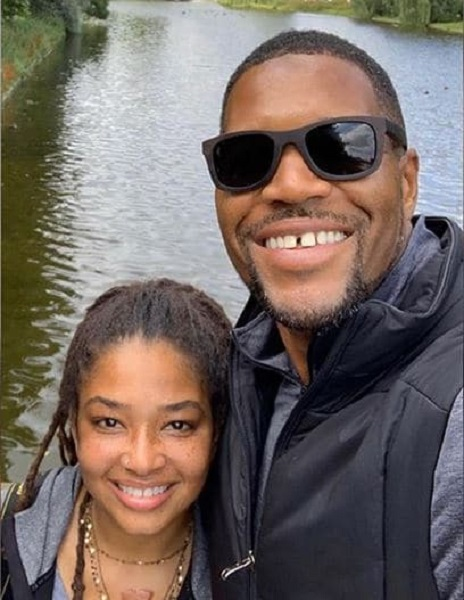 Tanita Strahan with her father Michael Strahan